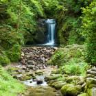 Mini-mini Wasserfall bei Geroldsau