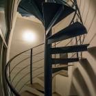 """Aus der Mini-Serie """"Turm-Treppenhäuser in Baden-Baden, gestern und heute"""", heute: Heute – Treppenhaus SWR-Sendeturm Fremersberg"""