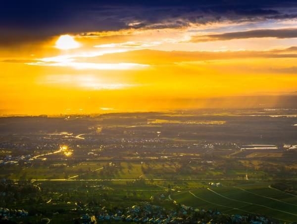 Zu Ehren von Caspar David Friedrich, der heute vor 200 Jahren ein Bild von einer Landschaft gemalt hat