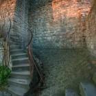 Aufgang und Untergang im Schloss Hohenbaden