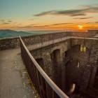 Der 333245ste Sonnenuntergang für Schloss Hohenbaden